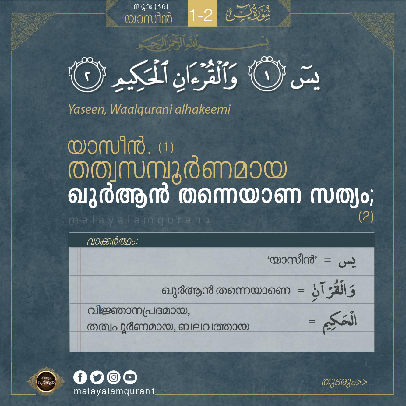 Malayalam Quran - മലയാളം ഖുർആൻ: July 2017