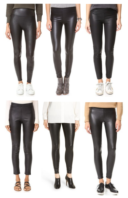 Faux Leather Leggings Under $100
