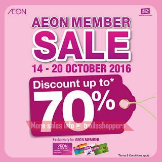 AEON Member Sale 2016