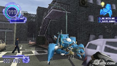 Download Ghost in the Shell - Stand Alone Complex Europe Game PSP For ANDROID - www.pollogames.com