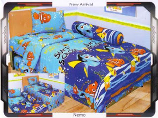 sprei internal motif Nemo