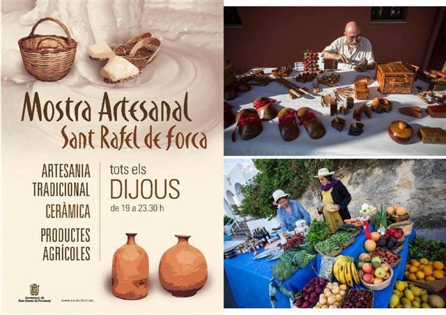 Muestra artesanal de San Rafael Ibiza