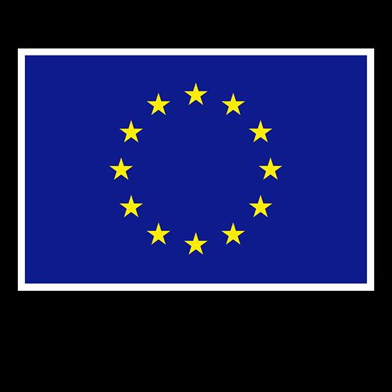 Logo Unión Europea - Auspiciador III Congreso Internacional de la Industria Plástica, Lima, Perú, abril 2020