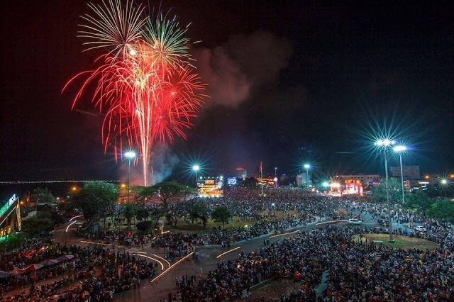 Lịch bắn pháo hoa tại Quy Nhơn tết âm lịch 2020