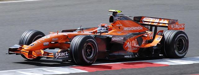 Gambar Mobil Balap F1 Spyker 01