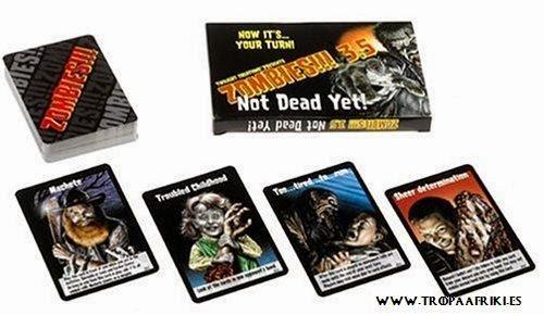 Juego de cartas Zombies!!! 7,60€