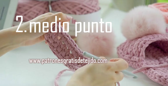 pantuflas descanso crochet