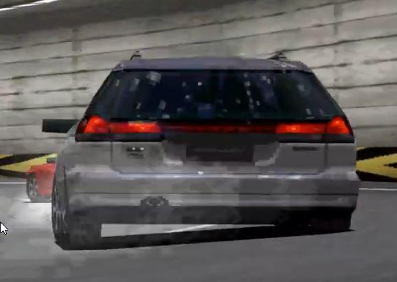 Subaru Legacy GT B Touring Wagon '96