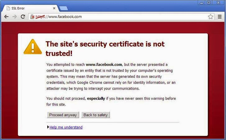 Fake Digital Certificates Found in the Wild While Observing Facebook SSL Connections