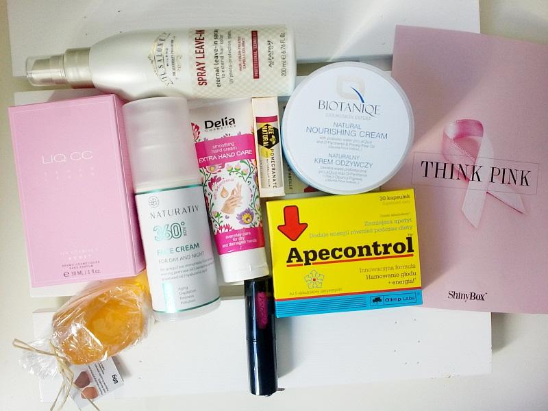 Shinybox październik 2018 | Think Pink