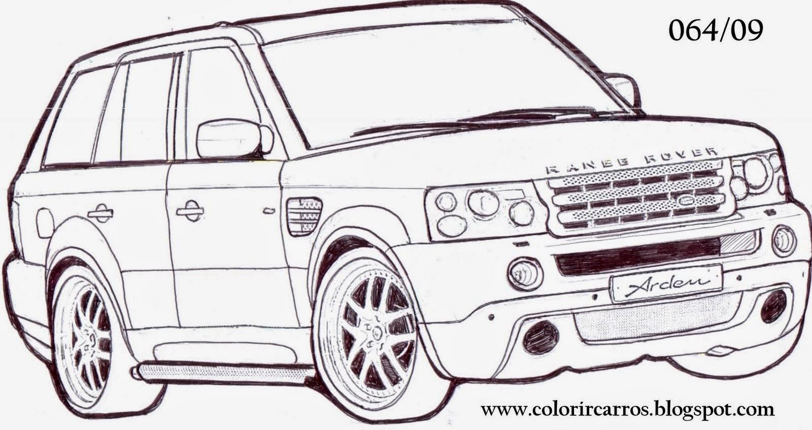 Desenhos De Carro Para Colorir