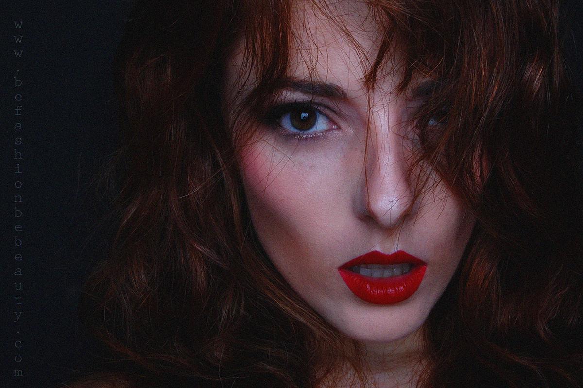 """Maquillaje paso a paso con """"Be fashion. Be beauty."""" Labial Ruby de MAC."""