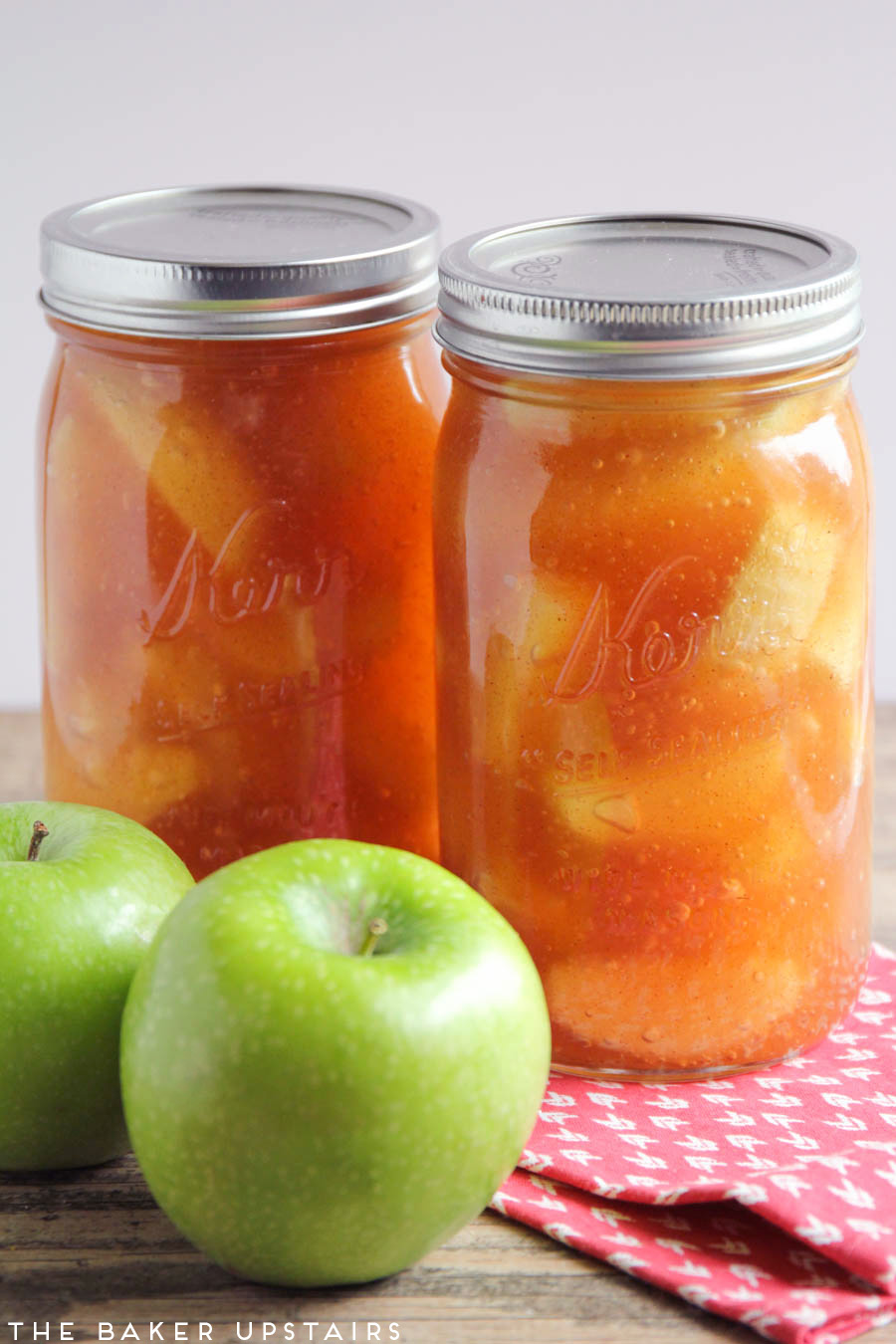 Homemade apple pie filling! So delicious and flavorful, and makes the best pie ever!