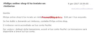 Logo Philips Shop Online ha inviato il rimborso: verifica anche tu