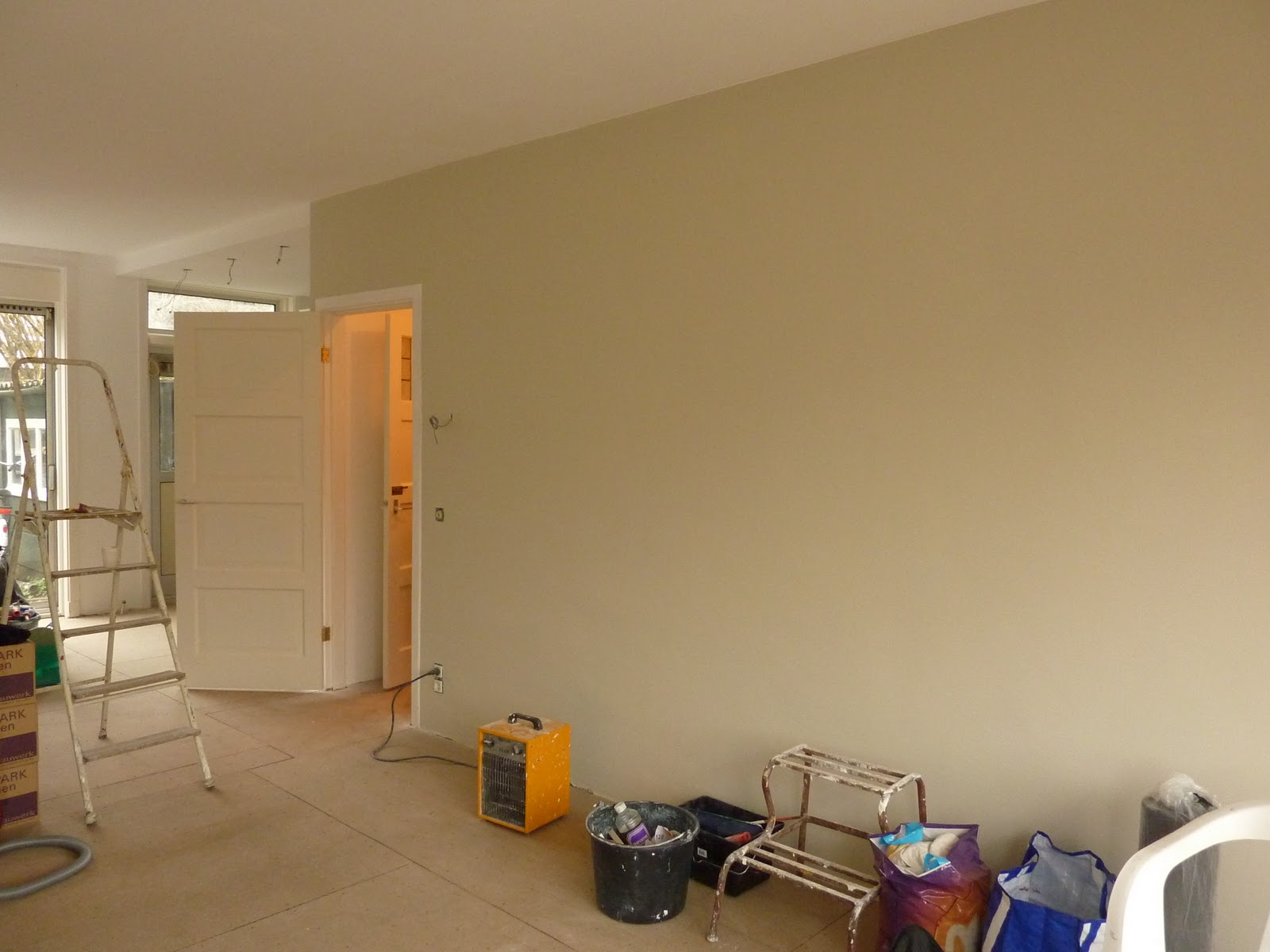 De Verbouwing Huiskamer af deel II