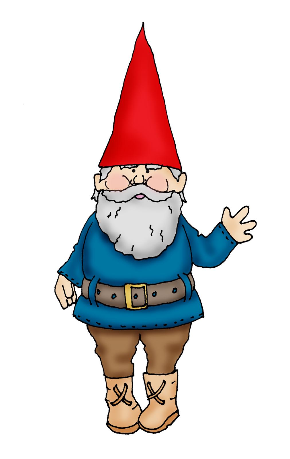 Gnome Clip Art: Free Dearie Dolls Digi Stamps: Gnome