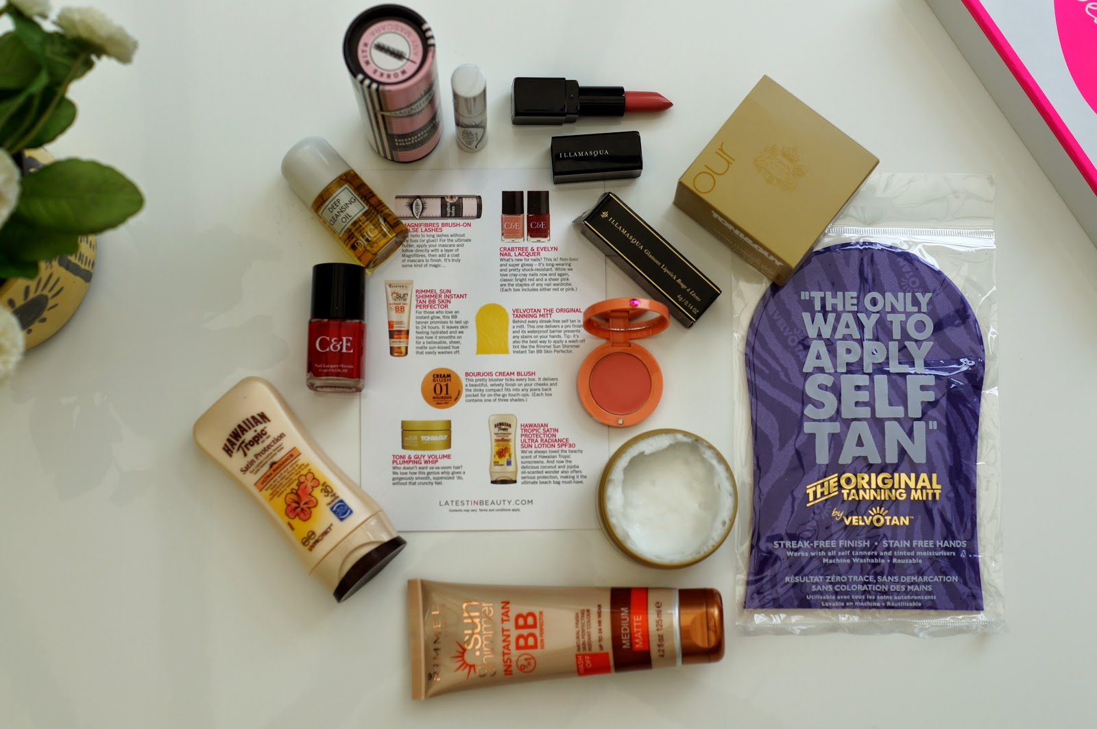 glamour beauty edit summer box