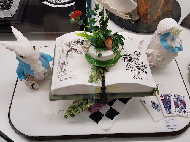 Decorated Alice Cake