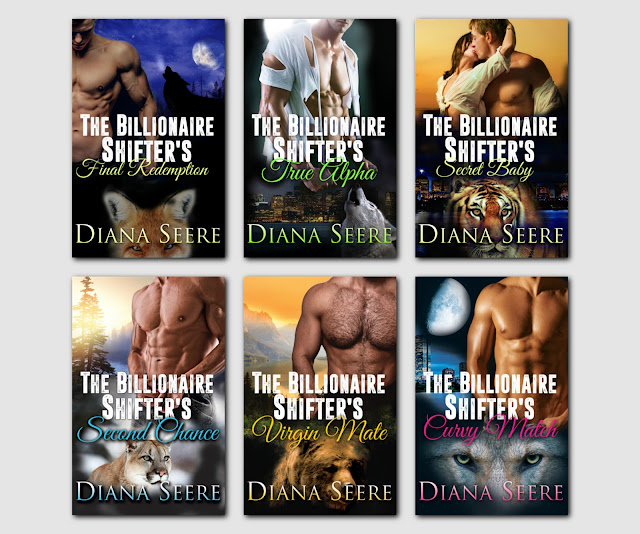 The Billionaire Shifters Club #PNR series is now available on #KindleUnlimited @dianaseerebooks