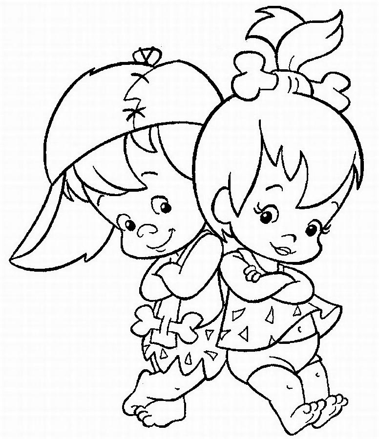 Dibujos Para Colorear De Las Princesas Bebes Dibujos