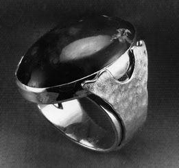 Robin Atkins, sterling silver, man's ring