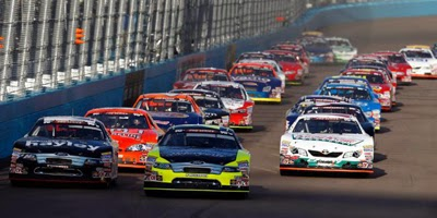 The NASCAR K&N Pro Series West opens the 2014 season on Feb. 27 at Phoenix International Raceway in Avondale, Ariz. Getty Images for NASCAR