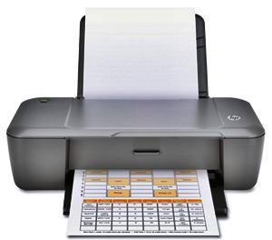 HP Deskjet 1000 Driver Free Download