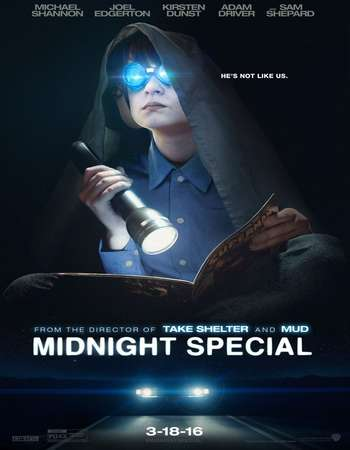 Poster Of Midnight Special 2016 English 350MB BRRip 720p ESubs HEVC Free Download Watch Online Worldfree4u