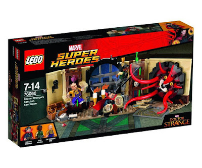 TOYS : JUGUETES - LEGO Super Heroes  76060 El Sancta Sanctorum de Doctor Estraño  Doctor Strange's Sanctum Sanctorum  Producto Oficial MARVEL 2016 | Piezas: | Edad: 7-14 años  Comprar en Amazon España & buy Amazon USA