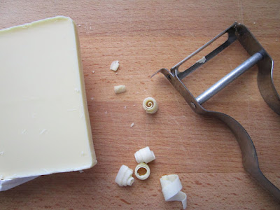 Tarta cremosa de chocolate blanco y café (Siempredulces) - Elaboración Paso 8