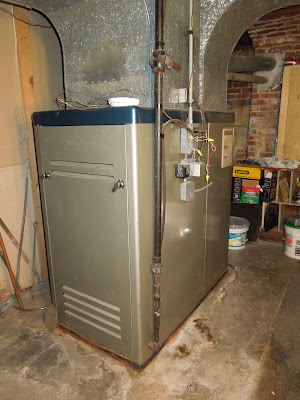 Our Arts and Crafts Home: New Furnace Time! Part I