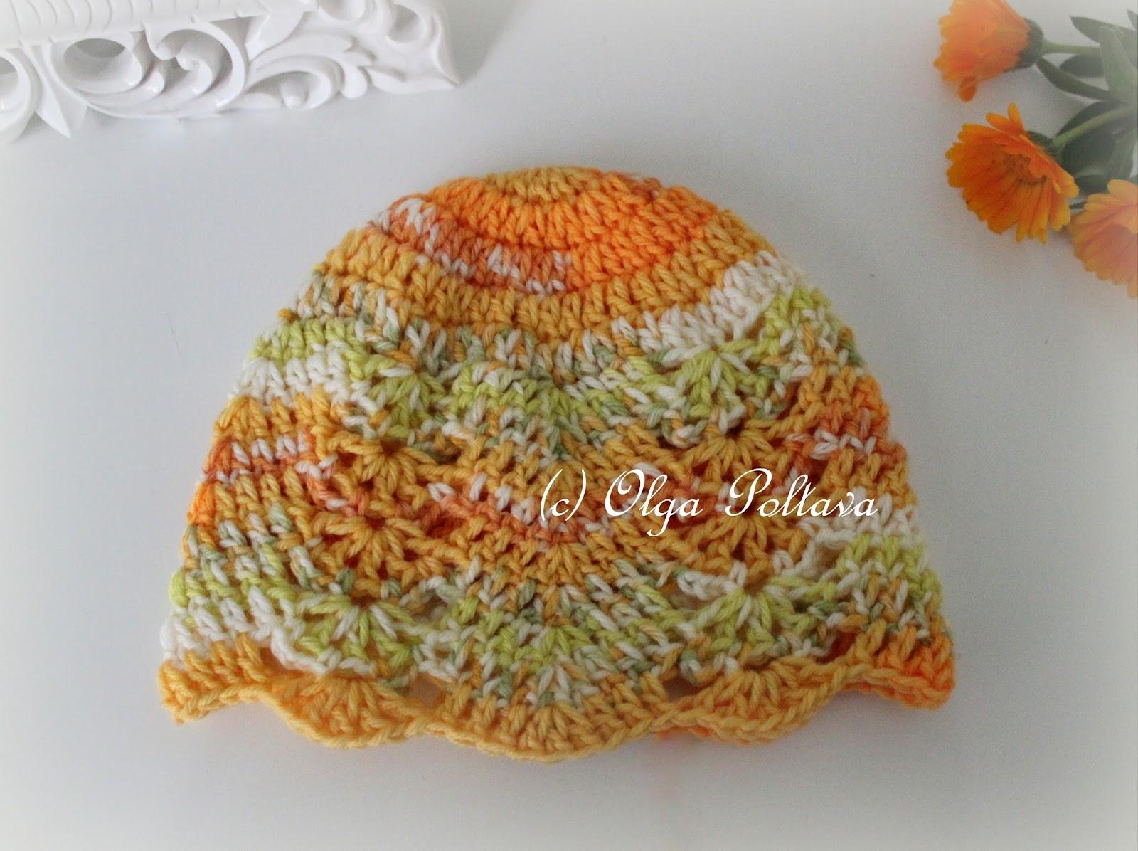 Lacy crochet calendula baby hat crochet pattern calendula baby hat crochet pattern bankloansurffo Gallery