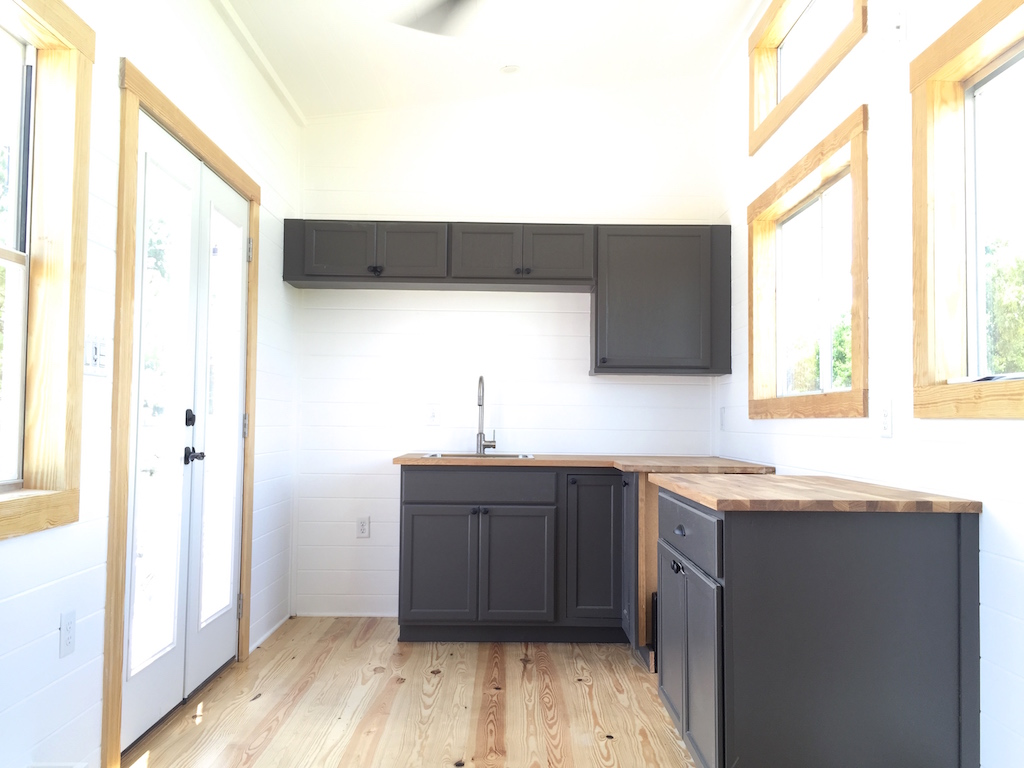 TINY HOUSE TOWN: The Irving Tiny House (350 Sq Ft)