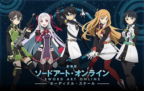 Sword Art Online Ordinal Scale BD (Movie) Subtitle Indonesia