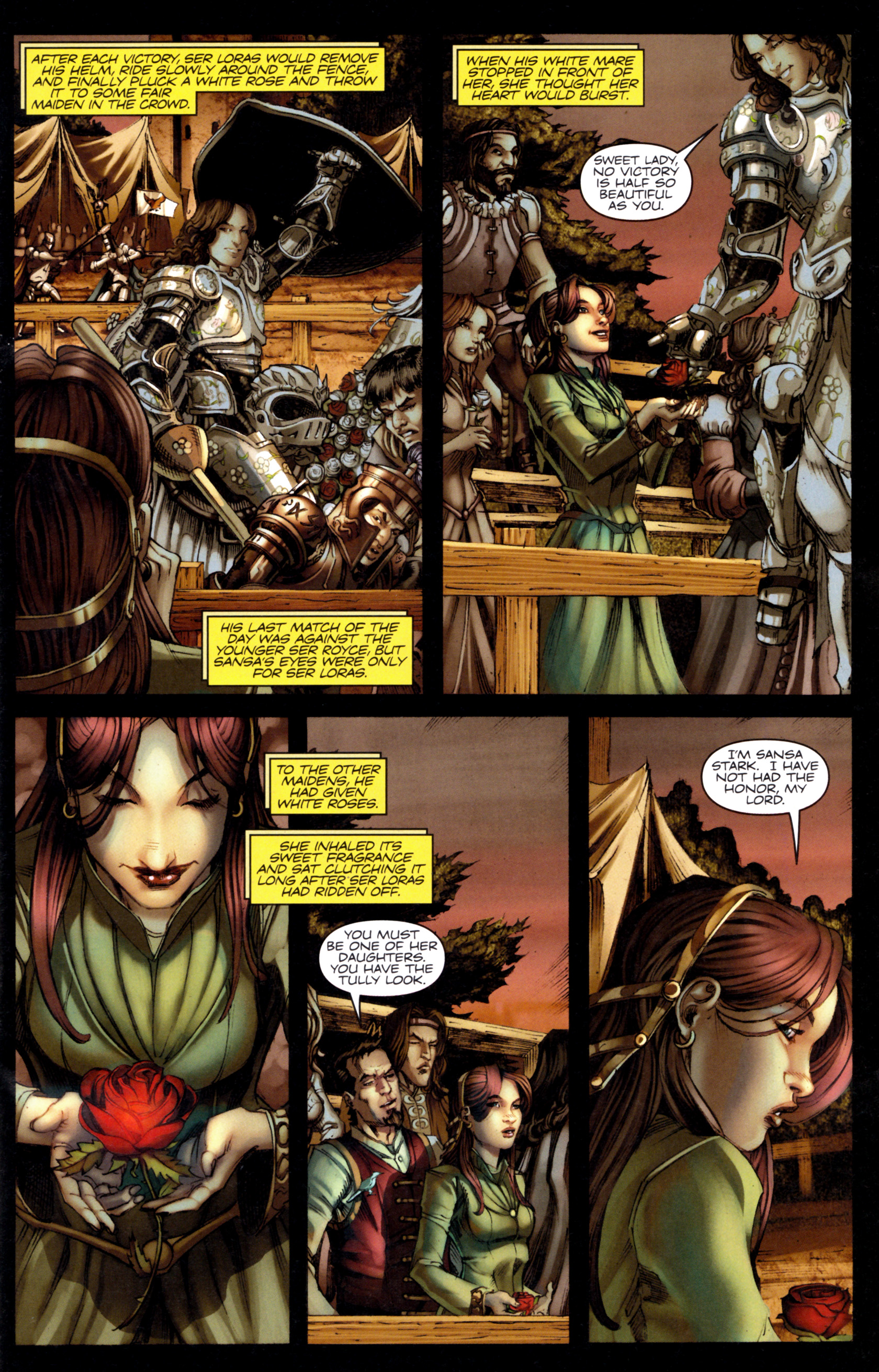 Read online A Game Of Thrones comic -  Issue #9 - 11