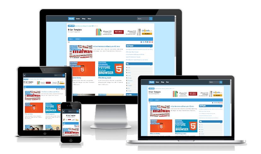 Con Responsive Blogger Template merupakan template yg awalnya premium lalu digratisk Download B-Con Responsive Blogger Template FREE
