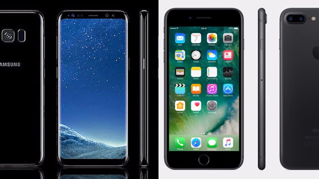 iPhone 7 vs Samsung Galaxy