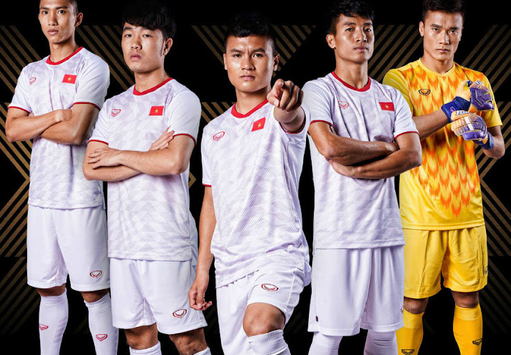 reputable site fcfe1 87c22 All 2019 AFC Asian Cup Kits - 24 Teams - Footy Headlines