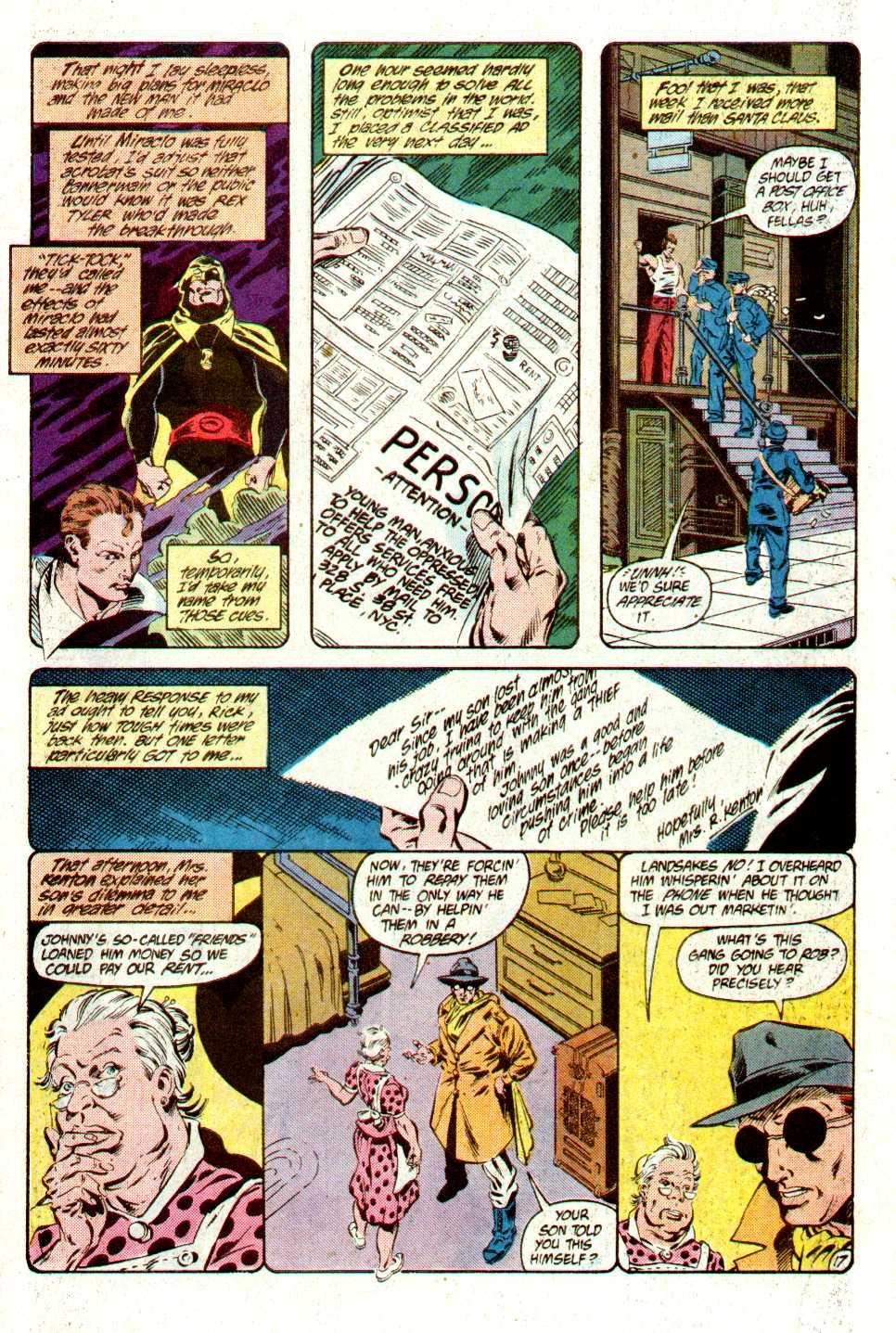 Read online Secret Origins (1986) comic -  Issue #16 - 39