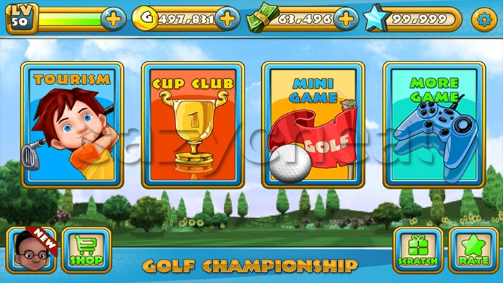 Golf Championship Cheats