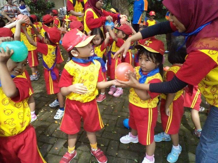 Outbound Anak Paud Permainan Outbound Tk Kids Outbound Games Anak