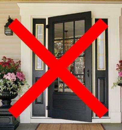 Dg Style Front Door Window Treatment