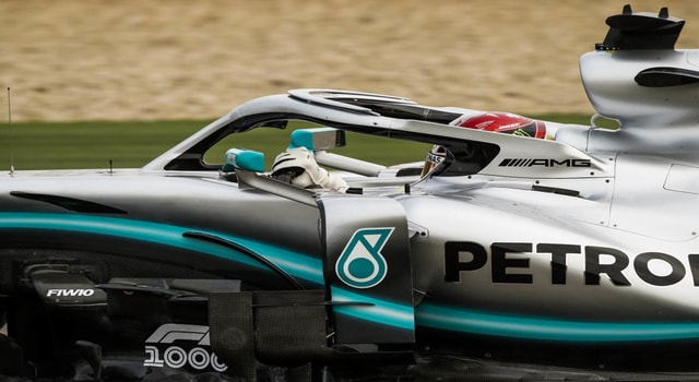 Mercedes AMG show excellence in China's qualifying and Potas advance on Hamilton