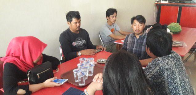 Jurnalis Go TV,  korban kekerasan Satpam UIN Alauddin mengadu ke AJI Makassar