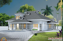 3d Floor Plan And Elevation - Kerala Home Design