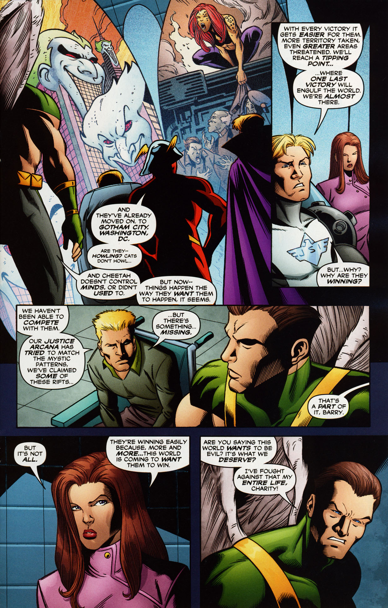 Read online Trinity (2008) comic -  Issue #38 - 23
