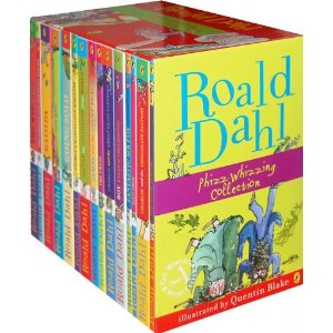 Roald Dahl 15 Book Box Set (Slipcase)