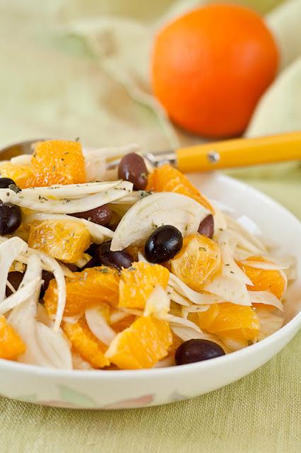 Sicilijanska salata sa moračem i pomorandžama