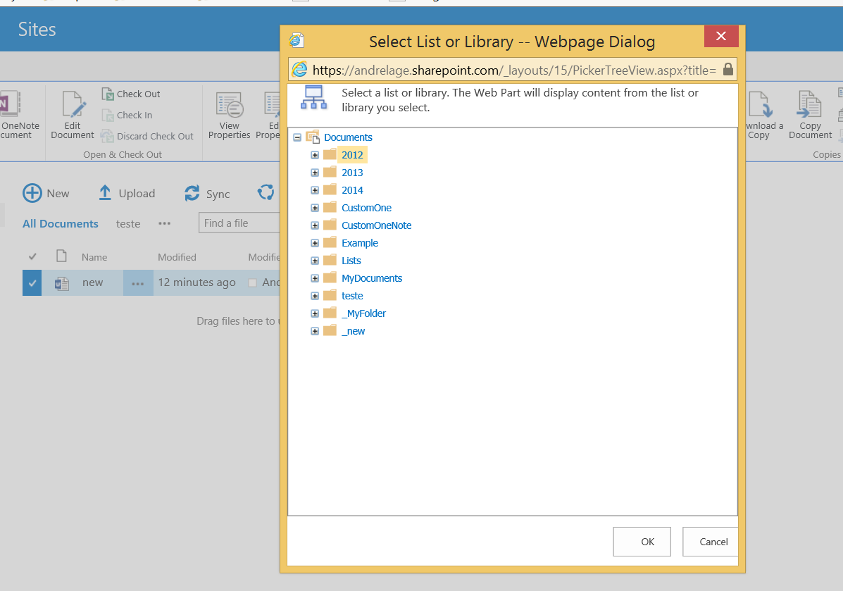 My time break for sharepoint part iii examples of for Document library name sharepoint