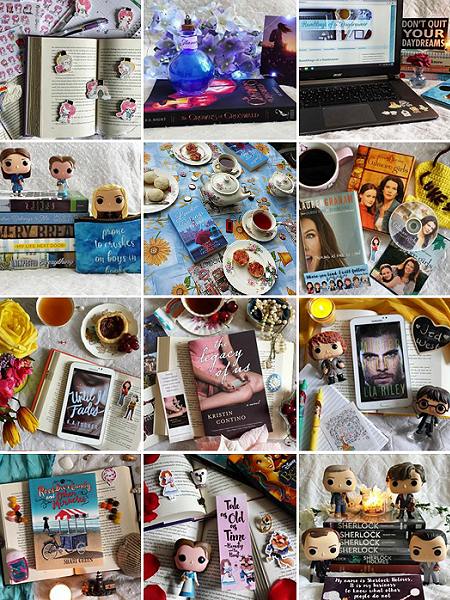 instagram bookstagram bookish pictures collage